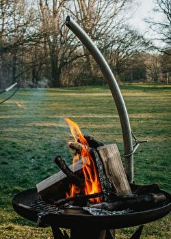 Gezellig bij het vuur