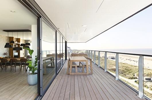 Maris Apartments uitzicht