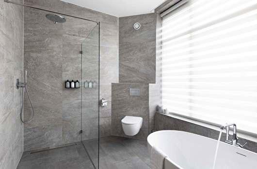 Anegang badkamer
