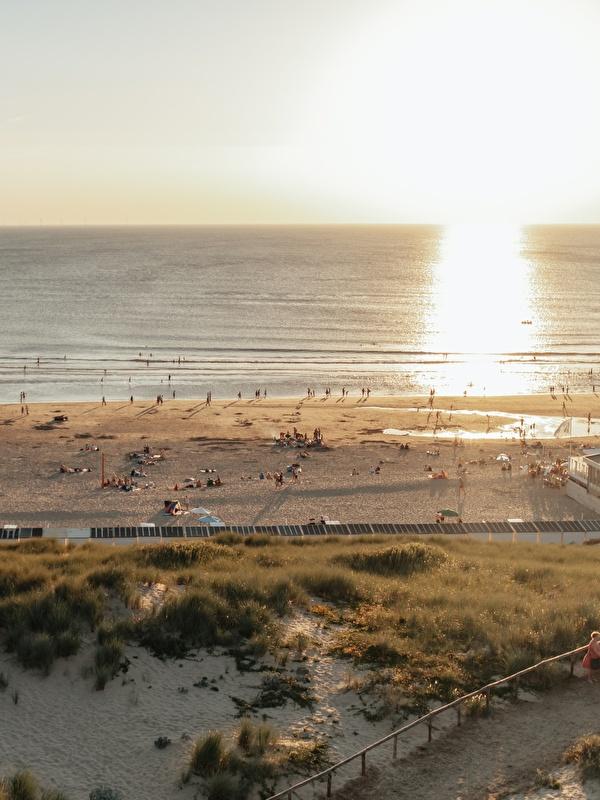 foto van de duinen